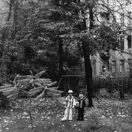 Geburtshaus Hans & Leo Frank: Hinterhof