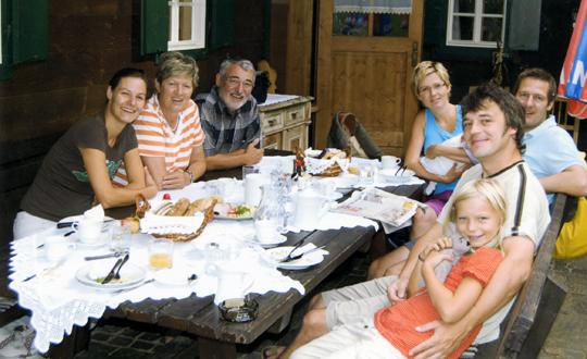 Fam. Josef IV. (Joe)  & Marietta (Etti) Frank, aufg. Sept. 2008