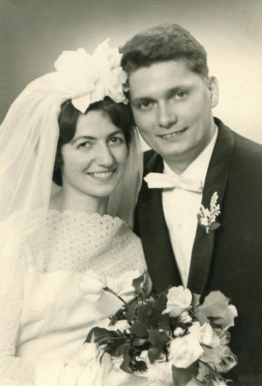 Gustav Rödl & Monika geb Frank (*1938)