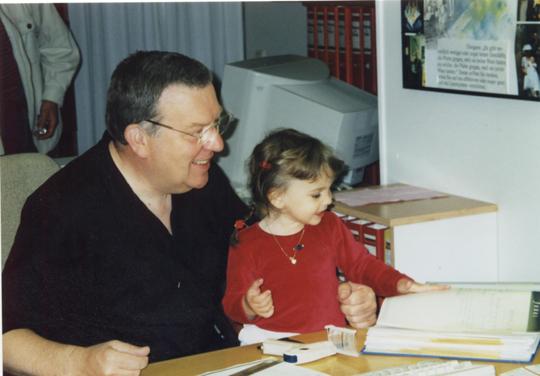 Josef Frank Neulengb. & Enkelin Johanna Frank, Tochter v. Günter & Karin Frank