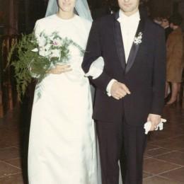 Josef-Frank-IV.-(1944)-Hochzeitsfoto-mit-Marietta-Hartl---21.09.1968