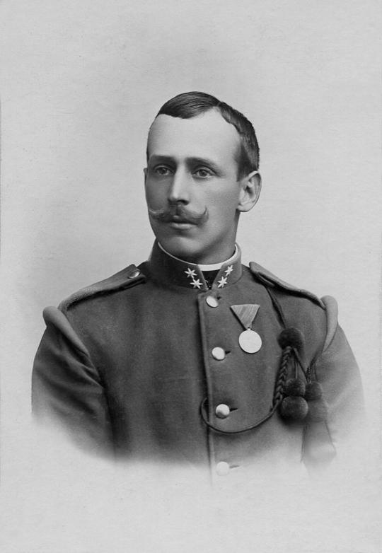 Josef I. Andreas Frank (1846) jung