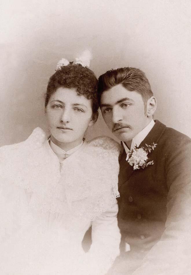 Juliana Maria Frank (*1871) Bruder Josef II. Frank (*1875)