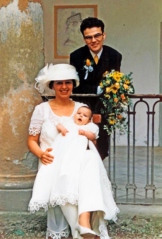 Karin & Günter Frank mit Tochter Johanna Frank