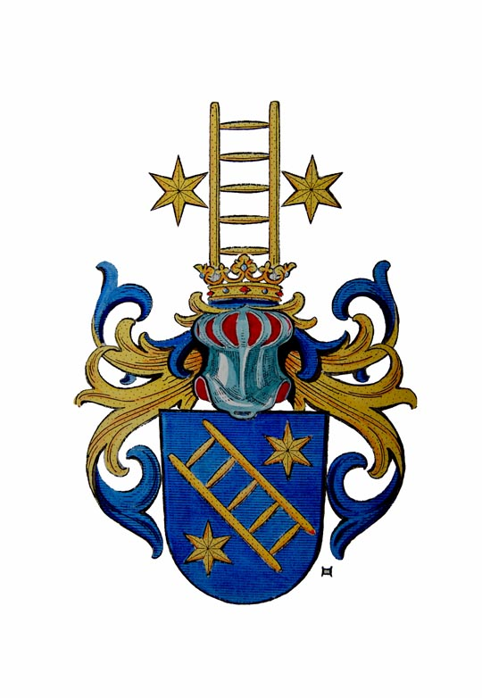 Leiterwappen von Karl v. Frank, Senftenegg