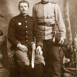 Rudolf II. Frank (1876) u. Josef II. Frank (1875)