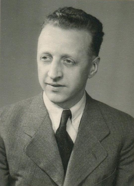 Norbert Frank (*1907) Sohn v. Josef II. Frank (*1875)